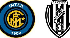 Inter-Cesena 1-1: il tabellino e le pagelle.