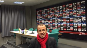 IL DIRETTORE TOLOMEO IN CONFERENZA STAMPA POST-PARTITA MILAN-VERONA