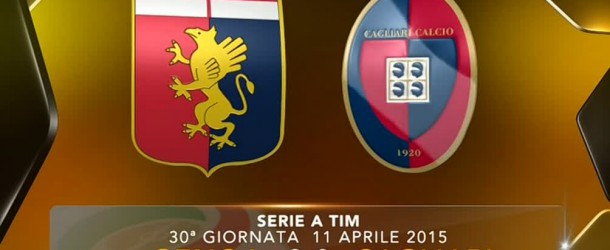 Genoa-Cagliari 2-0: il tabellino.