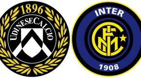 Udinese-Inter: le formazioni ufficiali