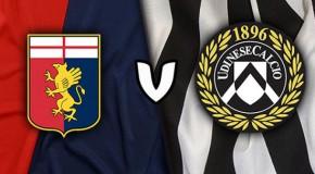Genoa-Udinese 1-1: il tabellino.