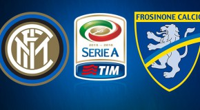 Inter-Frosinone: le formazioni ufficiali
