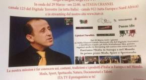 SCEGLI CIRCUITO TELEVISIVO ITA TV, IN ONDA DAL 29 MARZO ALLE ORE 22:00 SU ITALIA CHANNEL