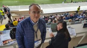 """L'AVVOCATO PAOLO VINCI IN CONFERENZA STAMPA POST PARTITA """"ATALANTA-MILAN"""""""
