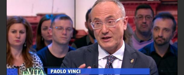 """L'AVVOCATO PAOLO VINCI OSPITE SU RAI UNO A """"L'ESTATE IN DIRETTA"""""""