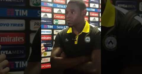 POST PARTITA MILAN-UDINESE, INTERVISTA AI GIOCATORI