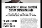 INTERVISTA ESCLUSIVA AL DIRETTORE DI ITA TV GAETANO TOLOMEO