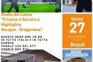 """QUESTA SERA ORE 18:00 IN TUTTA ITALIA E IN TUTTA EUROPA CANALE 154 DEL DTT CANALE 821 DI SKY HIGHLIGHTS """"HERAJON-GREGORIANA"""""""