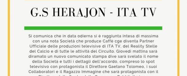 COMUNICATO UFFICIALE G.S.HERAJON-ITA TV