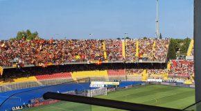 LECCE-ROMA 0-1 IL TABELLINO E LE PAGELLE