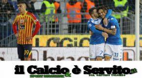 BRESCIA-LECCE 3-0, IL TABELLINO E LE PAGELLE