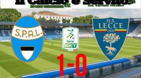 SPAL-LECCE 1-0, IL TABELLINO E LE PAGELLE